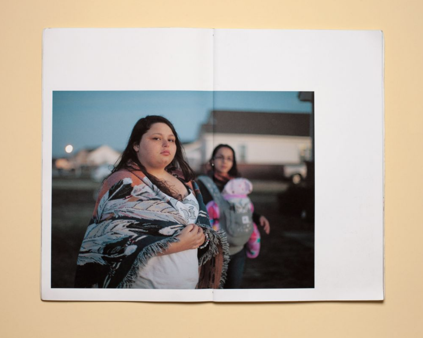 Maria Sturm about her photobook dummy You Don't Look Native To Me